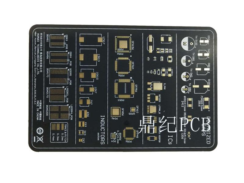 板厚3.0单面哑黑电路板加工