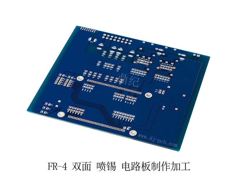 FR-4 双面 喷锡 电路板制作加