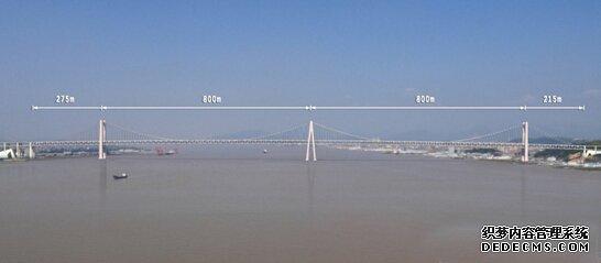 """10月26日至28日,经过严格评审,中铁大桥局集团有限公司获得温州瓯江北口大桥主桥中塔施工权,这标志着世界首座""""三塔四跨双层钢桁梁""""悬索桥——温州瓯江北口大桥主体工程即将开工。该项目对于完善国家公路网络,提高东部沿海公路运输大通道通行能力,进一步加强长三角、海峡西岸和珠三角地区的沟通联系,促进浙江海洋经济发展示范区建设,推进温台产业带和温州瓯江口产业集聚区发展,构筑温州大都市经济圈等均具有历史意义。       作为甬台温高速公路复线和温州市南金公路两大"""