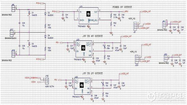 图3:样例电路板的原理图.