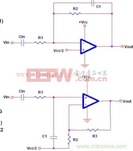 阶低通滤波电路是有源滤波电路的重要一种,适合作为多级放大器的级联.