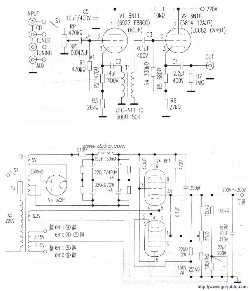 """早期的""""熊猫""""电视机c型电源变压器作过试验,如utc-24倒置使用于该电路"""