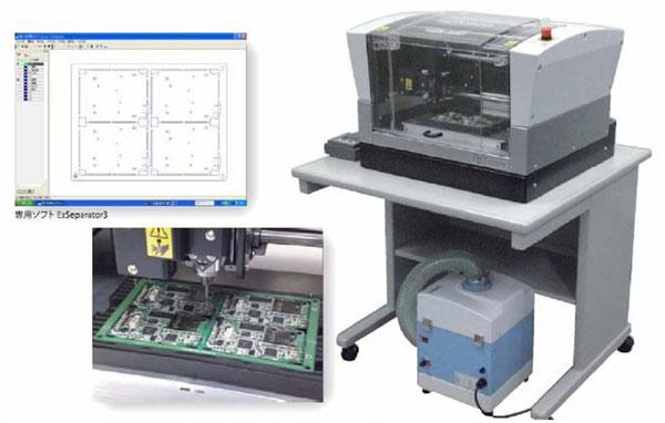 通过设计好的电路置入到电脑里面,电脑雕刻机会根据图纸的路径将电路